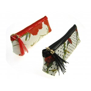 Beautycase PVC donna stampa floreale